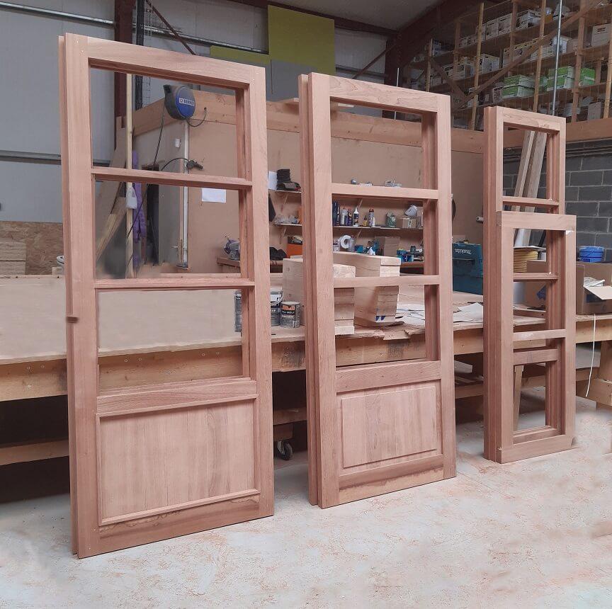 Porte bois accessibilité